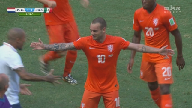 1-8, NED-MEX (1-1): le missile de Sneijder aura raison d'Ochoa [RTS]