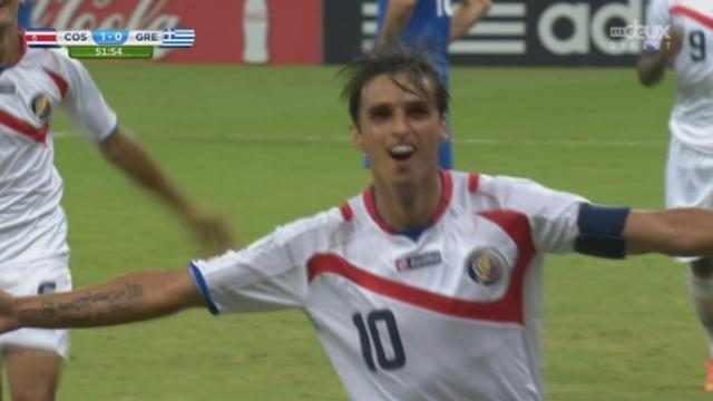 1-8, CRC-GRE (1-0): ouverture du score pour le Costa Rica grâce à une reprise de Ruiz [RTS]