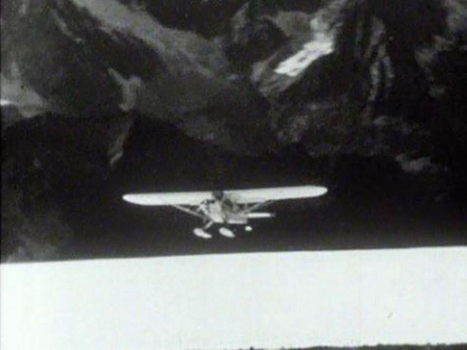 Un moment délicat pour le pilote des glaciers, l'atterrissage. [RTS]
