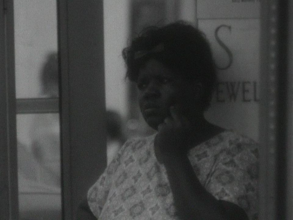 Une femme noire à Atlanta en 1962. [RTS]