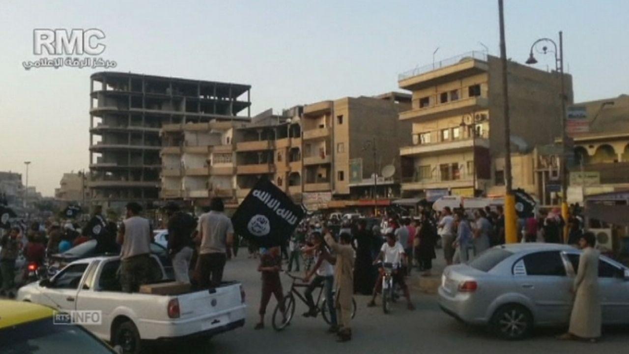 Les djihadistes ont pris Raqqa dans l'est de la Syrie [RTS]