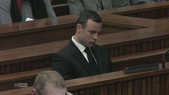 Reprise du procès Pistorius à Prétoria [RTS]