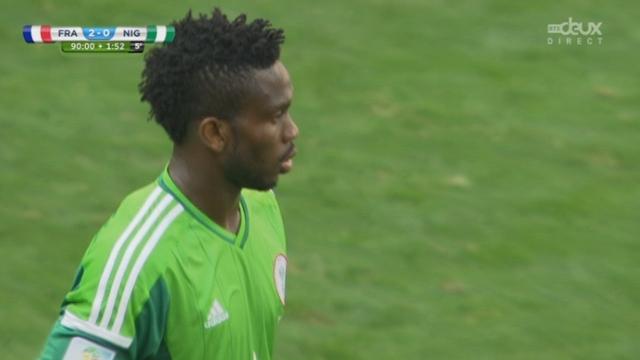 1-8, FRA-NGR (2-0): tout en nonchalance, les Français assoment le Nigéria d'un deuxième but [RTS]