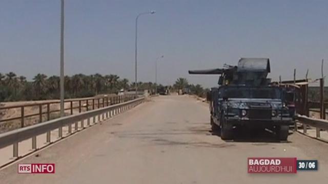 Irak: les djihadistes de l'Etat islamique annoncent le rétablissement du califat [RTS]