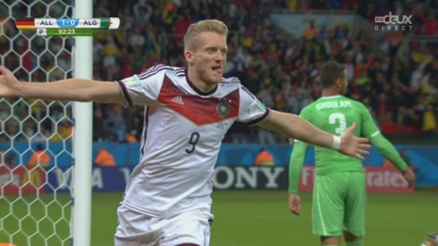 1-8, GER-ALG (1-0): Schürrle délivre les Allemands avec ce but marqué dans les prolongations [RTS]