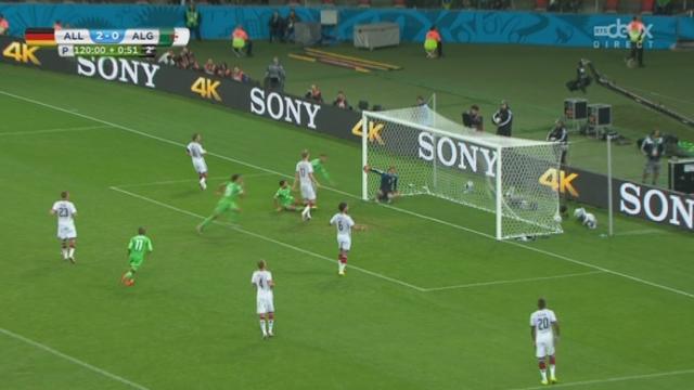 1-8, GER-ALG (2-1): dans le temps additionnel des prolongations, Feghouli sauve l'honneur algérien [RTS]