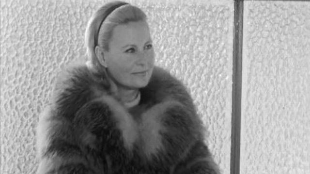 Sublime Michèle Morgan en vacances à Crans-Montana [RTS]