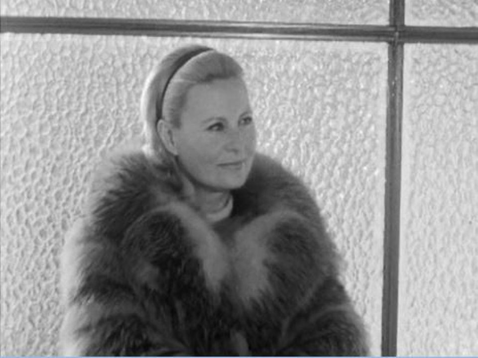 Sublime Michèle Morgan en vacances à Crans-Montana [RTS]
