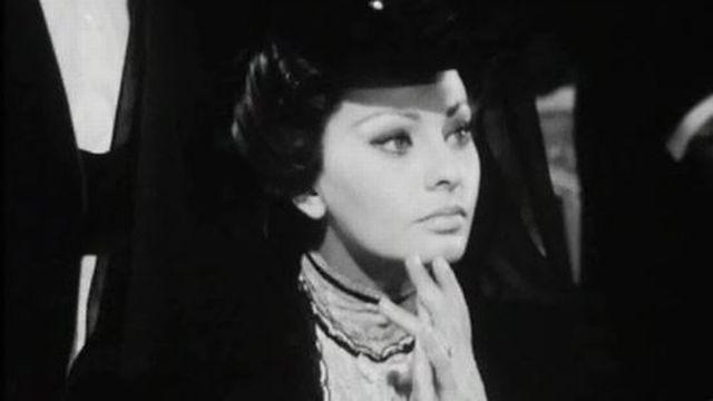 A Montreux, l'actrice Sophia Loren tourne Lady L. [RTS]