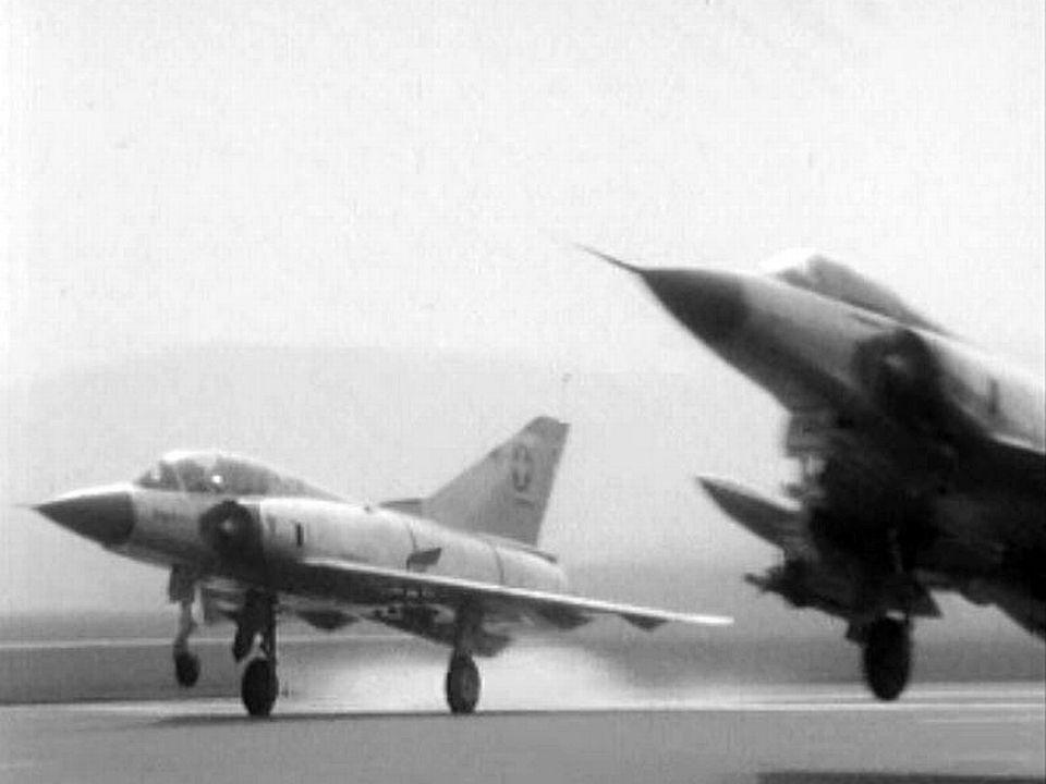 L'entraînement des pilotes suisses sur les Mirages.
