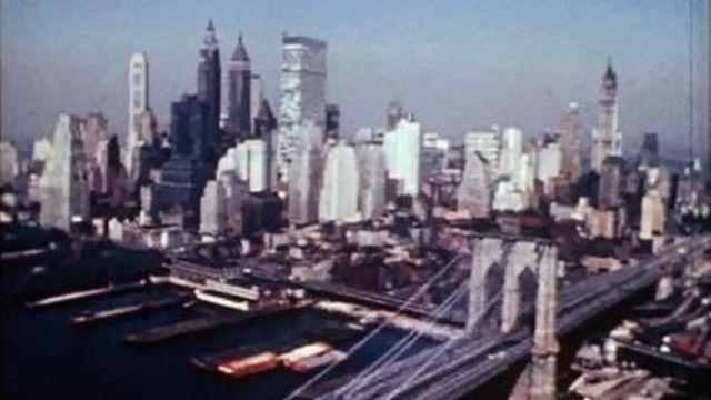 Balade à Manhattan, avant l'édification du WTC. [RTS]