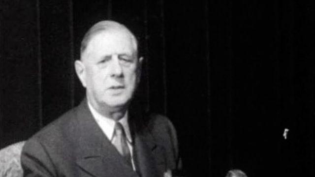 Le général Charles De Gaulle, une rétrospective de sa vie. [RTS]