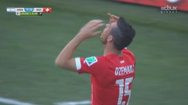 1-8, SUI-ARG (0-1): quelle malchance! La tête de Dzemaili trouve le poteau de Romero [RTS]