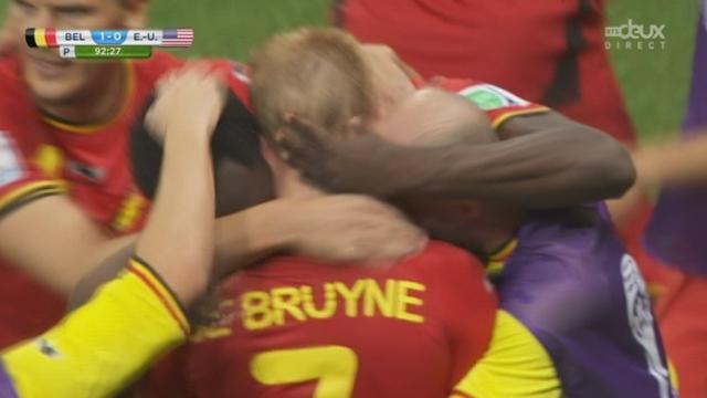 1-8, BEL-USA (1-0): De Bruyne ouvre la marque à la 92e minute dans les prolongations [RTS]