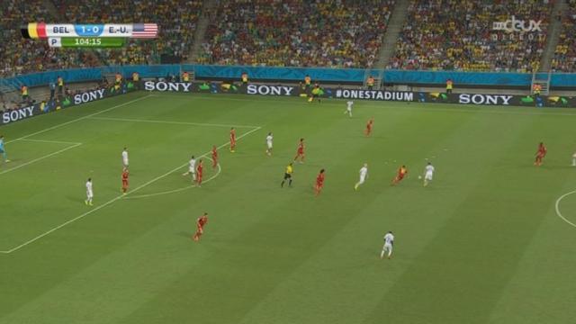 1-8, BEL-USA (2-0): Lukaku enterre les espoirs américains en marquant le 2-0 [RTS]