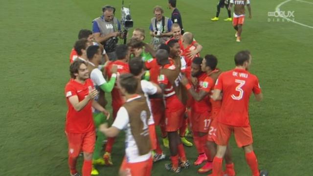 1-4, NED-CRC (0-0-4-2 t.a.b): les Pays-Bas se qualifient pour les demies finales aux tirs au but [RTS]