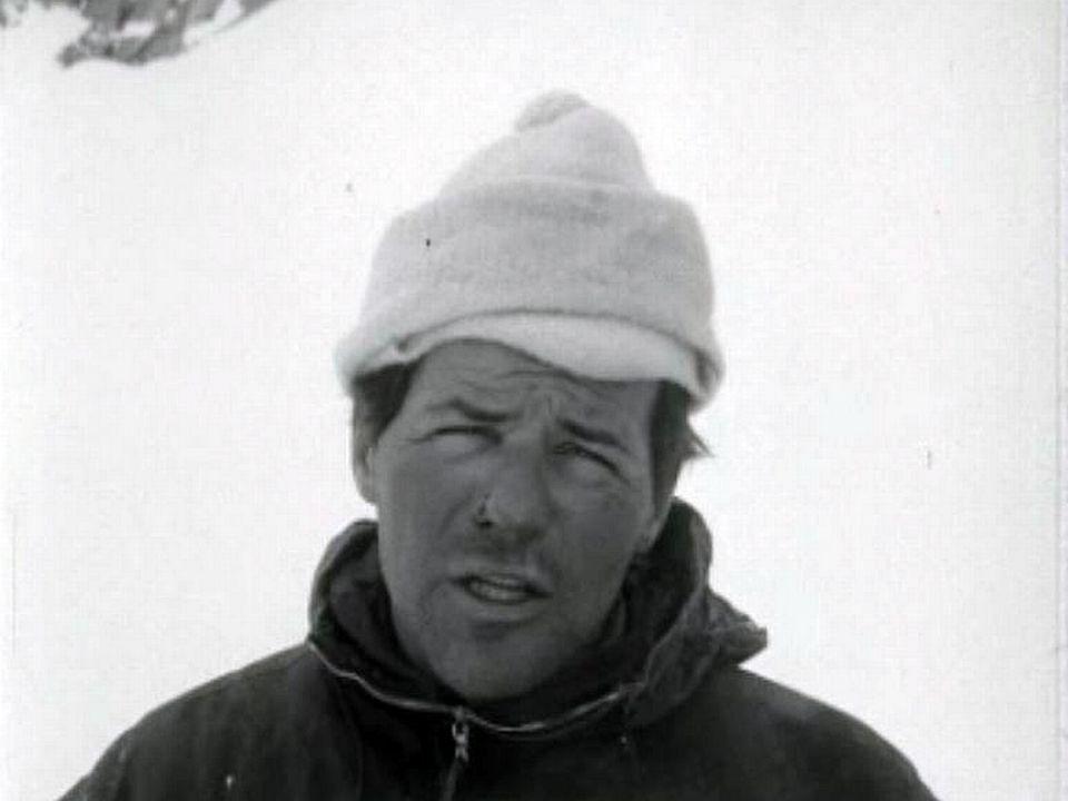 Une première hivernale de Bournissen à la Dent Blanche.
