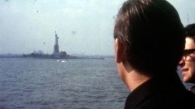 A la découverte de New York en 1971. [RTS]