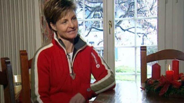 Elle a été une des grandes skieuses de l'équipe suisse.