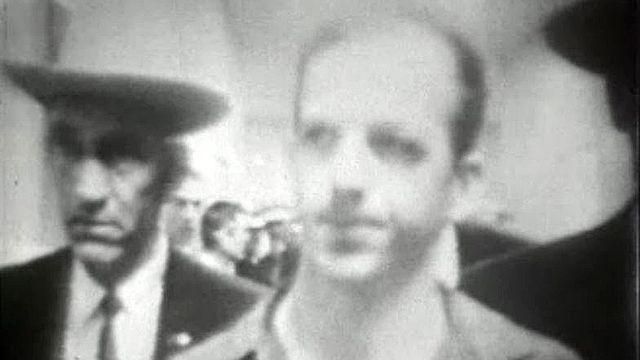 Le président dans la ligne de mire de Lee Harvey Oswald.