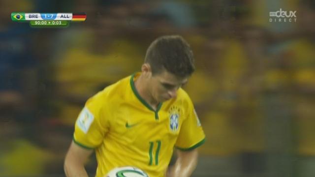 1-2, BRA-GER (1-7): Oscar sauve tout de même l'honneur dans les ultimes instant de cette partie [RTS]