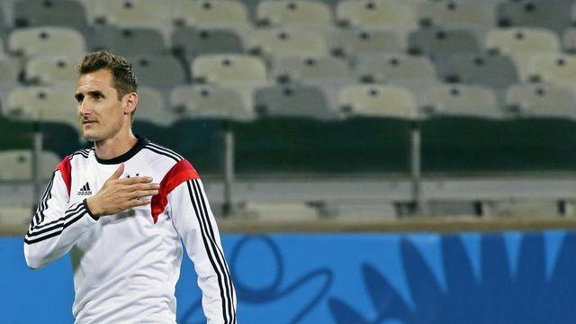 Miroslav Klose, meilleur buteur de l'histoire de la Coupe du monde. [Dennis Sabangan - EPA/Keystone]