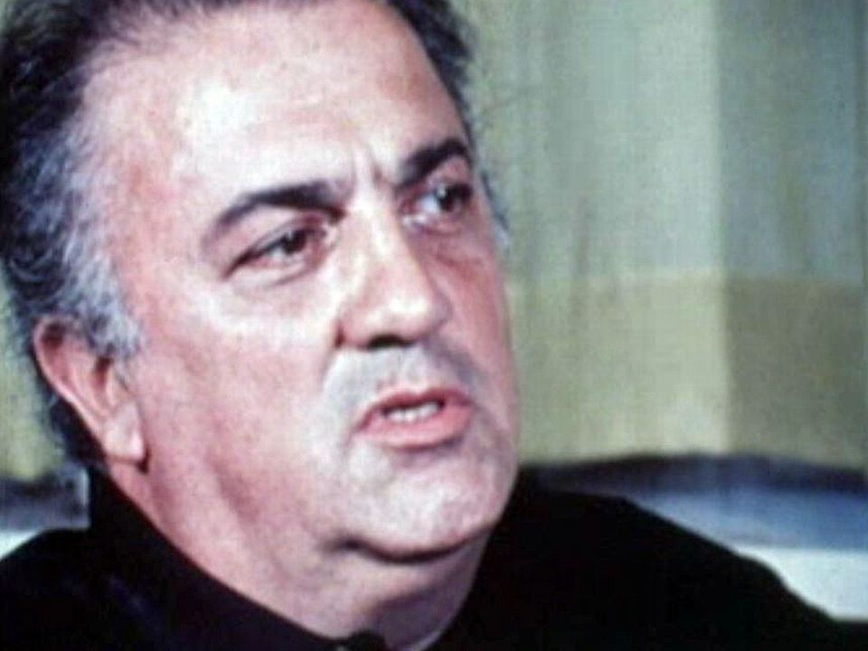 Le cinéaste italien Federico Fellini en 1969. [RTS]