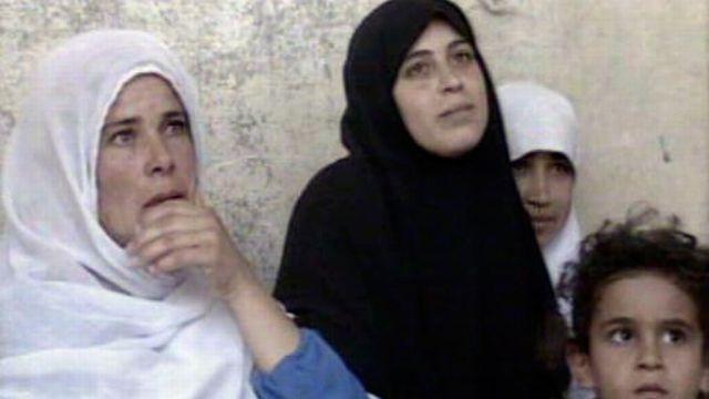 Chez les Palestiniens, à la veille des accords d'Oslo. [RTS]
