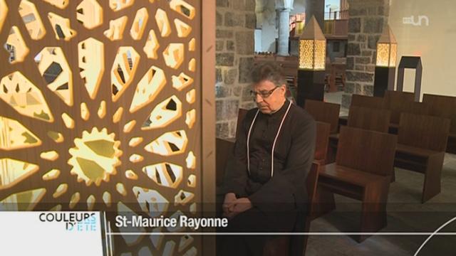 VS: l'Abbaye Saint-Maurice fête cette année ses 1500 ans [RTS]