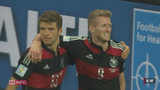 Coupe du monde - Finale: l'Allemagne et l'Argentine possèdent des buteurs de talent [RTS]