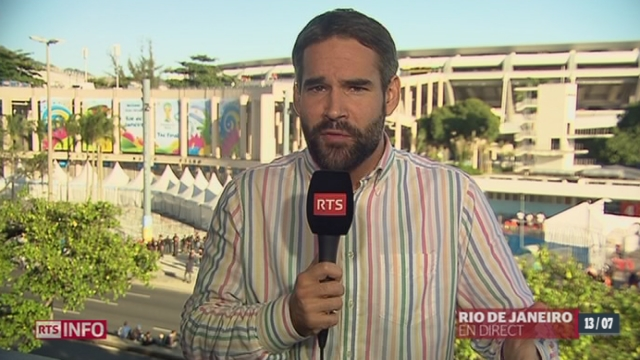 Coupe du monde: les dernières précisions de David Lemos à Rio de Janeiro [RTS]