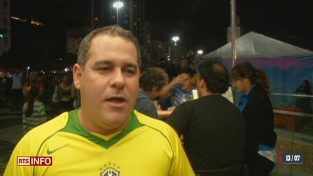 Coupe du monde: après la nouvelle défaite de leur équipe, les Brésiliens ne cachent pas leur amertume [RTS]
