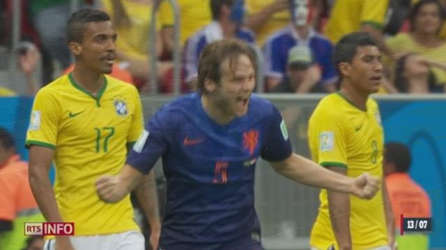 Coupe du monde: le Brésil a déçu une nouvelle fois en s'inclinant lourdement contre les Pays-Bas (0-3) [RTS]
