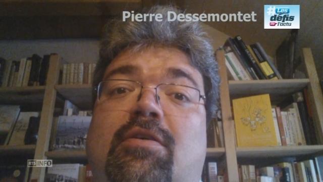 Le defi de Pierre Dessemontet [RTS]