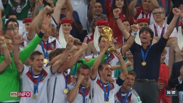Football - Coupe du Monde: Mario Götze est devenu le symbole de la victoire allemande [RTS]