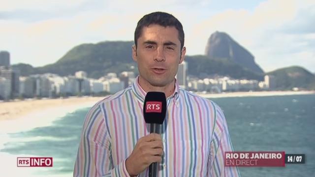 Coupe du Monde - Bilan: les explications de Frédéric Scola, depuis Rio de Janeiro [RTS]