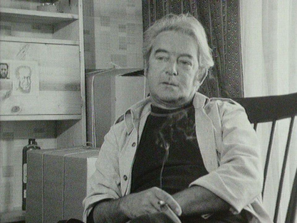 Le poète québecois Félix Leclerc à Saint-Légier [RTS]