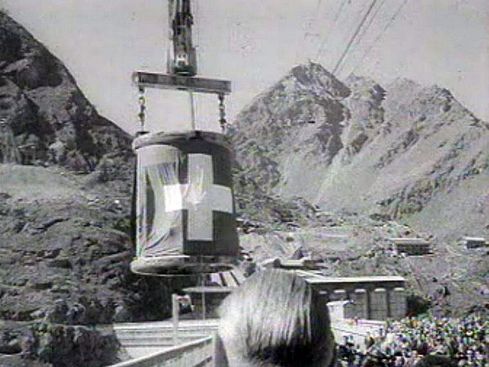 Une cérémonie marque la fin du chantier du barrage de la Dixence