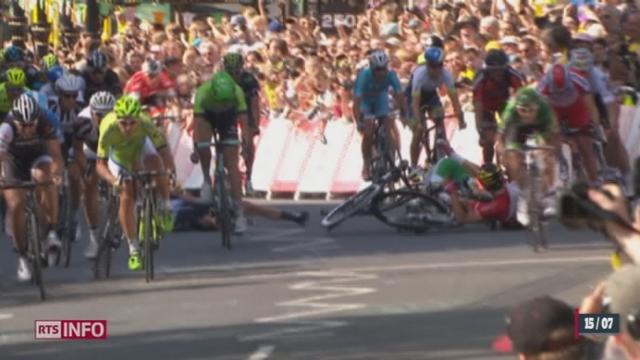 Cyclisme - Tour de France: cette année est marquée par une hécatombe de champions [RTS]
