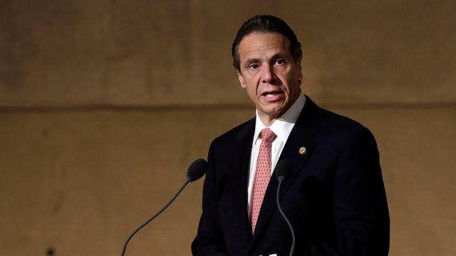 Andrew Cuomo, gouverneur de l'Etat de New York. [Richard Drew - Reuters]