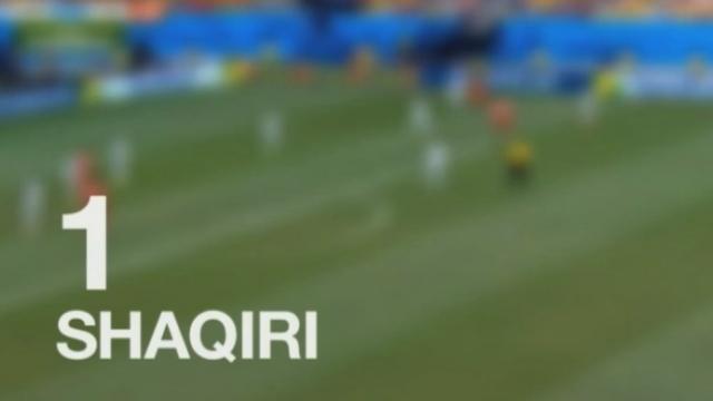 TOP 10 des plus beaux buts de la Coupe du Monde [RTS]