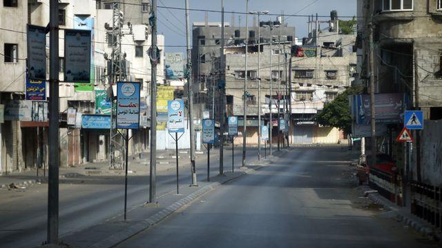 Les frappes israéliennes se poursuivent sur Gaza. [Thomas Coex - AFP]