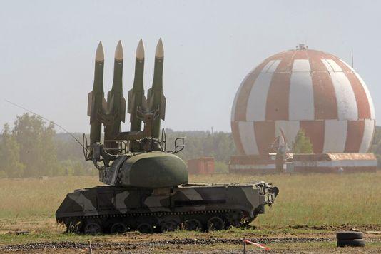 Un SA-11 russe lors d'une démonstration militaire en Russie en 2010. [Keystone]