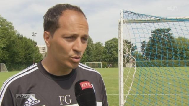 Football: rencontre avec Francesco Gabriele le nouvel entraineur de Lausanne-sport [RTS]