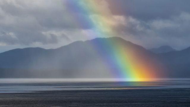 L'arc-en-ciel est le phénomène suprême de la décomposition chromatique. [Andrea Izzotti - Fotolia]