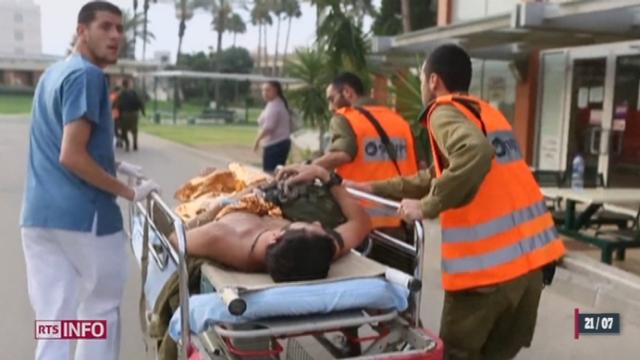 Le conseil de sécurité de l'ONU a appelé à cesser immédiatement les hostilités sur la Bande de Gaza [RTS]