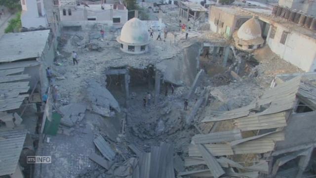 Gaza, ville fantôme, après deux semaines d'offensive [RTS]