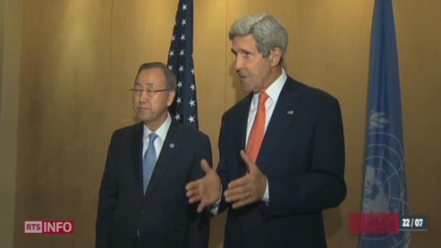 L'ONU et les États-Unis tentent d'obtenir un cessez-le-feu dans le conflit israélo-palestinien [RTS]