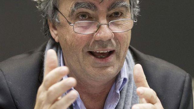 Patrick Aebischer, président de l'EPFL. [Peter Klaunzer - Keystone]