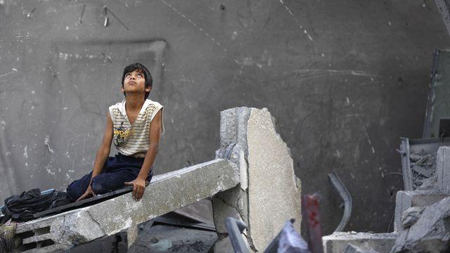Gaza, la vie malgré tout... [Mohammed Abed - AFP]